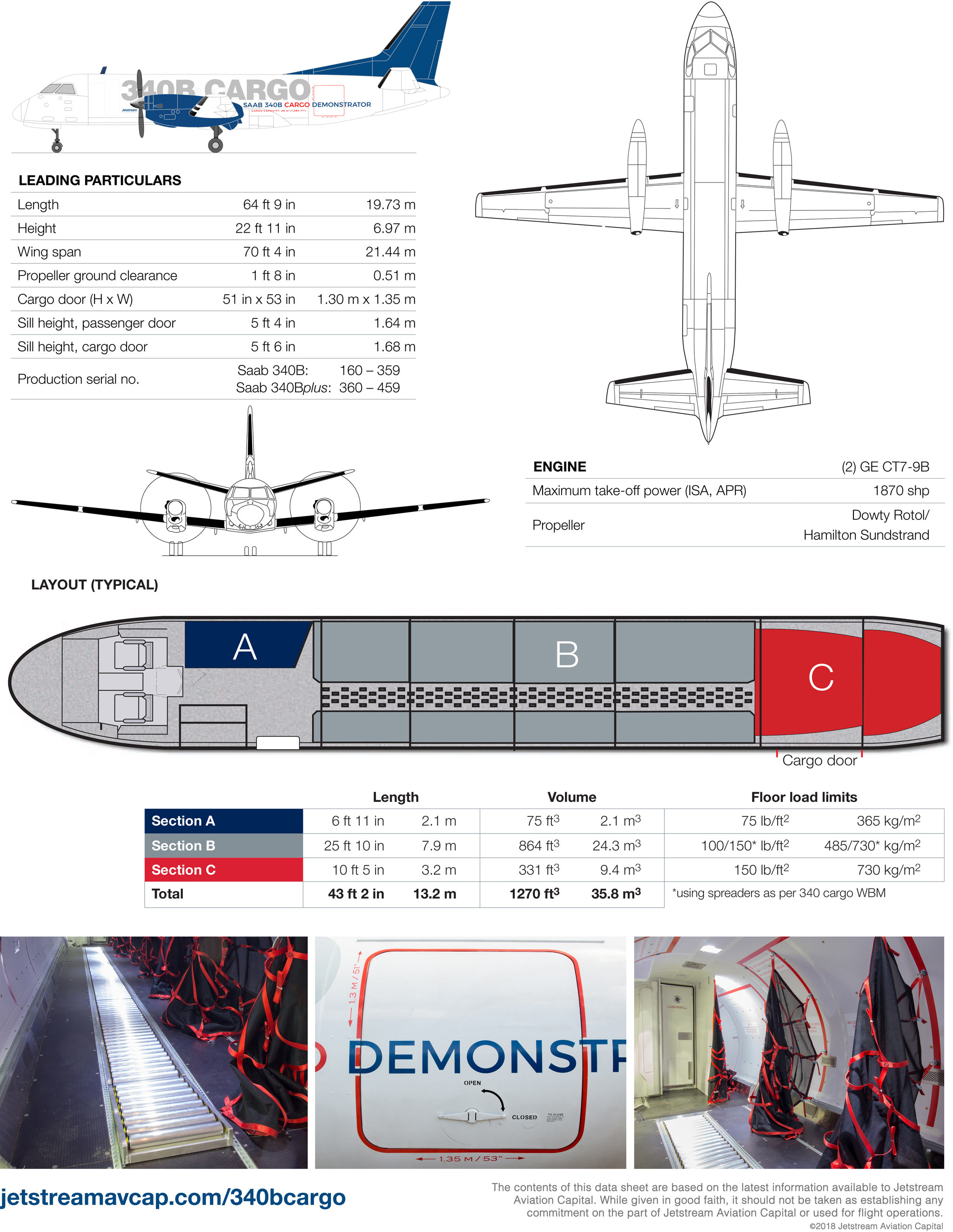 Jetstream Aviation Capital 340B Cargo 2018 Page 2