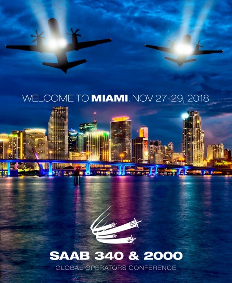 SAAB 340 & 2000 Global Operators Conference 2018