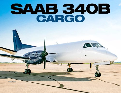 Jetstream Aviation Capital Delivers Two Saab 340B Cargo Aircraft To PuppySpot Aviation